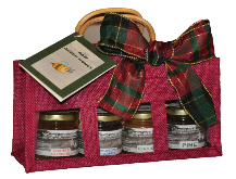 raw greek honey gift bag